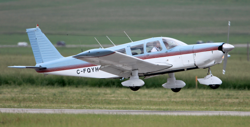 Piper Cherokee Six PA32-260 C-FQYH - 1/4 Share